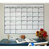 OfficeAid Laminated Jumbo Wall Calendar, 36-Inch by 48-Inch