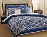 Tommy Bahama Colonial Hill 4-Piece Comforter Set, Queen