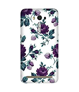 Purple Roses Asus Zenfone 2 Case
