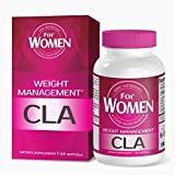 CLA or Conjugated Linoleic Acid Derived From All Natural Safflower Seed Oil, Highest Potency Non-GMO Weight Loss Dietary Supplements That Helps Proportion Lean Muscles To Fats And Lose Weight
