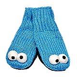 Knitwits Big Kids' and Adults' Sesame Street Knit Wool Mittens