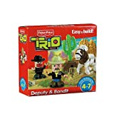 Fisher-Price TRIO Deputy & Bandit Building Set