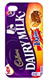 Iphone 4/4s Cadbury Dairy Milk Daim Black iphone case Free Next Day Delivery