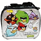 4 X Lunch Bag Angry Birds Space (Black/Silver)