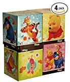 Kleenex Facial Tissue, Disney Designed Winnie the Pooh 4 Box Package