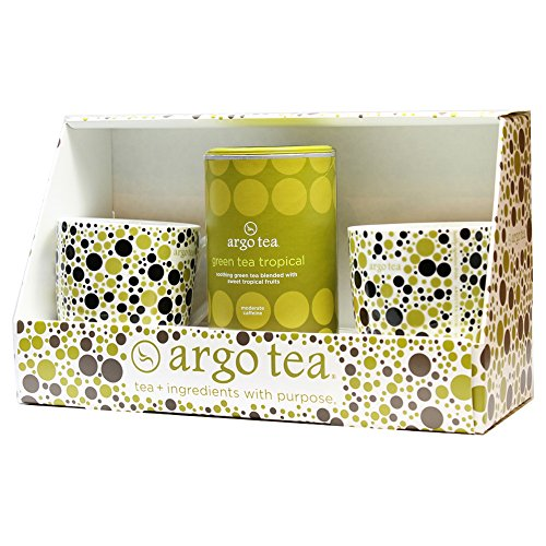Tea For Two Gift Set - Green Tea Tropical