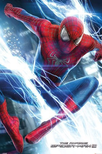 """The Amazing Spider-Man 2 - Movie Poster (Spidey Leaping) (Size: 24"""" x 36"""")"""