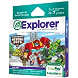 Leap Frog Explorer Transformers Rescue Bots Race To The Rescue Learning Game Toy, Kids, Play, Children