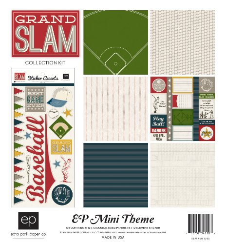 Echo Park Paper Grand Slam Mini Theme Collection Kit