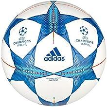 Comprar Adidas Finale 15 Capitano S90224  - Balón de fútbol, color blanco / azul
