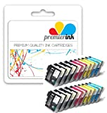 Premier Ink 24 Xl Compatible Ink Cartridges To Brother Lc1100 Lc 1100 Lc980 Lc 980 (6X Black & Ea. 6X Cyan Magenta Yellow) Lc1100Bk Lc1100Y Lc1100C Lc1100M Lc980Bk Lc980Y Lc980C Lc980M For The Brother Mfc-250C Mfc-290C Mfc-297C Mfc-490Cn Mfc-5490Cn Mfc-5
