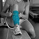 THERAPEARL Shin Wraps Twinpack x2 | Hot Cold Therapy | Gel Bead Heat Ice Pack | Shin Splints Pain | Freezer Microwave