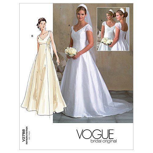Vogue Patterns V2788 Misses'/Misses' Petite Dress, Size 12-14-16