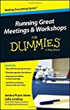 img - for Running Great Meetings & Workshops For Dummies by Jessica Pryce-Jones (25-Apr-2014) Paperback book / textbook / text book