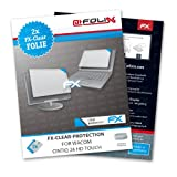 AtFoliX FX-Clear screen-protector for Wacom CINTIQ 24 HD touch (2 pack) - Crystal-clear screen protection!