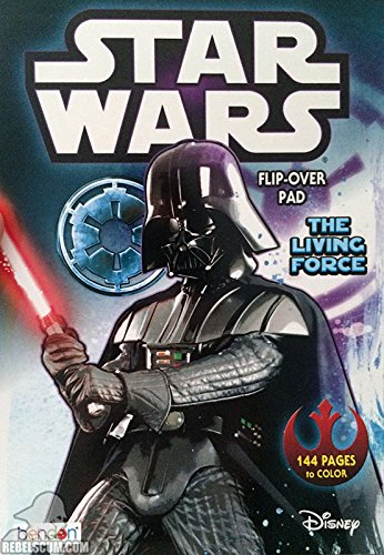 Star Wars: The Living Force Flip-Over Pad Coloring Book - 1