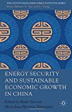 img - for Energy Security and Sustainable Economic Growth in China (Nottingham China Policy Institute) book / textbook / text book