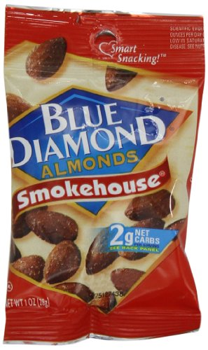 Blue Diamond Smokehouse Almond, 1-Ounce (Pack Of 24)