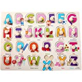 Alphabet Wooden Educational Letter Puzzle - Perfect For Children To Develop Wooden jigsaw puzzle toys for children 1-3 years old children jigsaw puzzle
