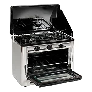 Stansport Propane Outdoor Camp Oven and 2 Burner Range by StanSport