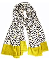 Women's Joy Floral & Animal Print Cotton Fashion Scarf / Shawl / Wrap