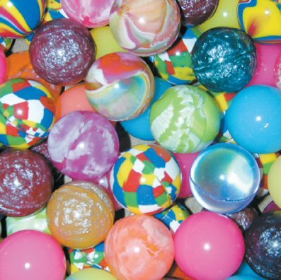 Assorted 27mm Super Bouncy Balls - 250 Count by candymachines