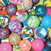 Assorted 27mm Super Bouncy Balls – 25…