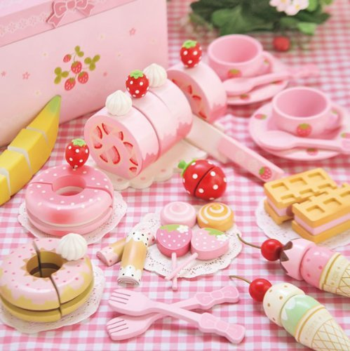Mother Garden Wild Strawberry Series Sweet Cafe Set