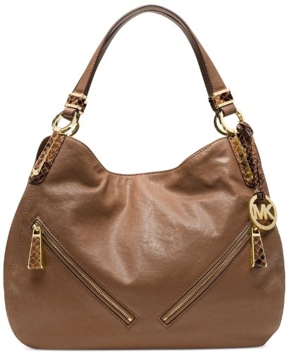 Michael Kors Matilda Large Shoulder Tote Mushroom