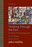 img - for Thinking Through the Past, Volume II book / textbook / text book