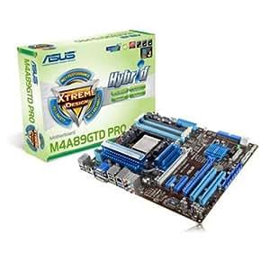 ASUS M4A89GTD PRO Carte-mère ATX Socket AM3 AMD 890GX FireWire Gigabit Ethernet carte graphique embarquée audio HD (8 canaux)