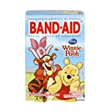 Johnson & Johnson Band Aid Winnie the Pooh Assorted Sizes Adhesive Bandages, 20 CT (Pack of 6)