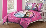 Disney -Disney Frozen Nordic Florals Comforter Set with Fitted Sheet-Bedding Sets-Comforters For Kids Room-Add a pop of color and flair to your child's bedroom-Guarenteed!
