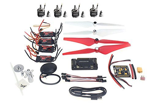 QWinOut DIY 4 axle GPS Mini Drone Aircraft Parts Arf Kit: - Import It All