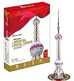 3D立体パズル 上海テレビ塔