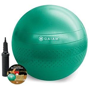 Gaiam Total Body Balance Ball Kit (65cm)