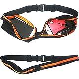 GTONEE Sport Running Waist Pack Double Expandable Water Resistant Waist Bag Belt Chest Pack For Running Travel... - B0104LWOGC