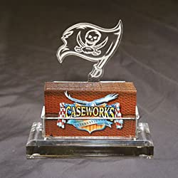 Tampa Bay Buccaneers NFL Business Card Holder w/ Gift Box