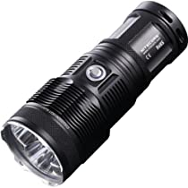 NiteCore Tiny Monster Triple Cree XML U2 LED Flashlight, Black