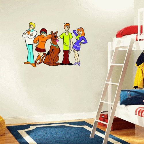 ... Curious George L And Stick Wall Stickers Scooby Doo Wall Decals Totally  Kids Totally Bedrooms Kids ... Part 34