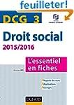 DCG 3 - Droit social 2015/2016 - 6e �...