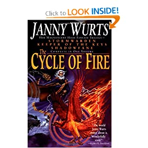 The Cycle of Fire: Stormwarden Keeper of the Keys Shadowfane by Janny Wurts
