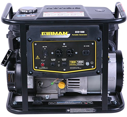 Firman Generators ECO1500 Gas Generator Firman B00Z9MSYZM