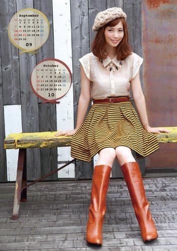 安田美沙子 2014年 カレンダー