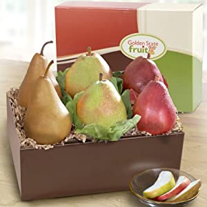 Golden State Pears to Compare Fruit Gift