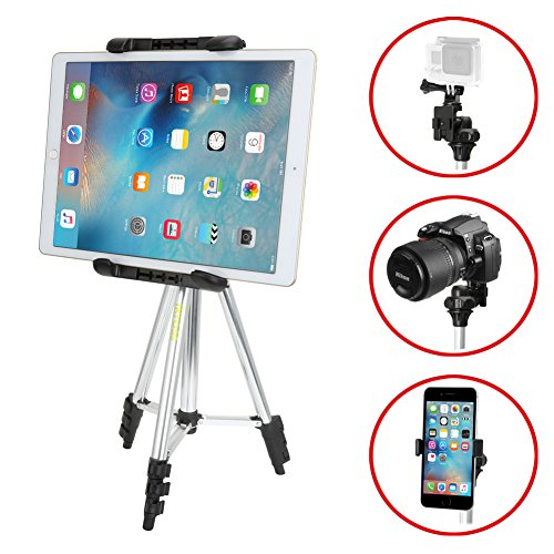 iKross-41-inch-Portable-Light-weight-Tripod-with-Adapters-for-Gopro-HERO-Apple-iPhone-iPad-Samsung-Smartphone-Tablet-Digital-Camera-and-more