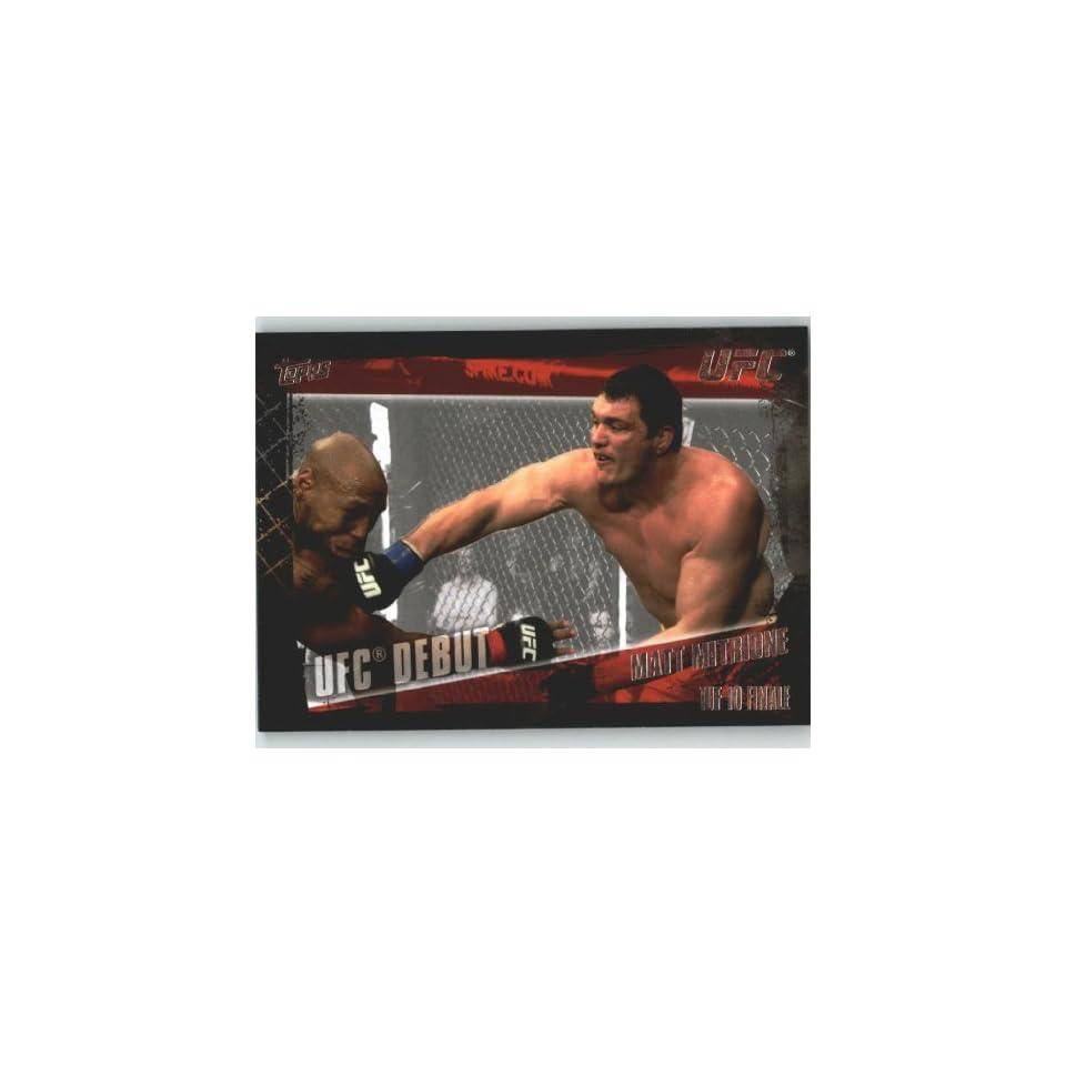 2010 Topps UFC Trading Card # 146 Matt Mitrione (Ultimate