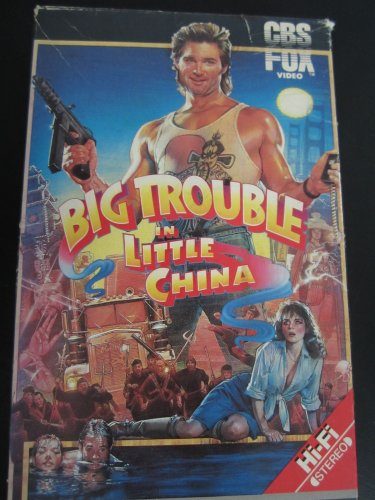 Big Trouble in Little China [VHS] [Import]