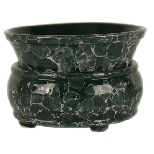 Marble Green 2 Piece Electric Candle And Tart Warmer