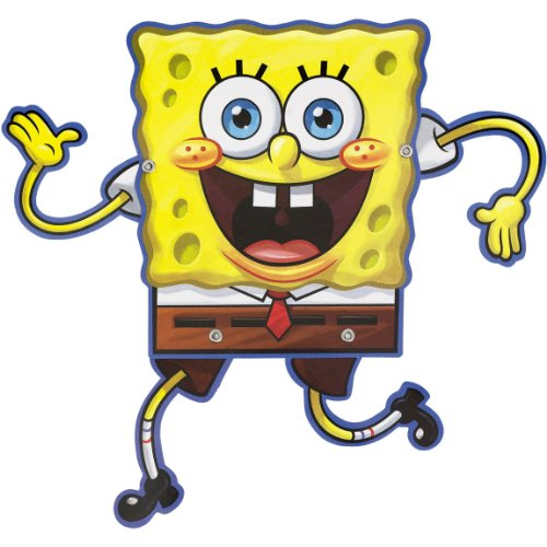 Spongebob Novelty Invitations 8ct